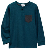 Splendid Classic Striped Henley (Toddler Boys)