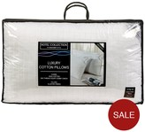 Hotel Collection Luxury Cotton Like Down Pillow