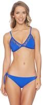 Nautica Vineyard Crochet Soft Cup Tri Bikini Top
