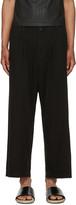 Issey Miyake Black Wide-leg Trousers