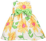 Bonnie Jean Baby Girls Sleeveless Floral A-Line Dress, 3-6 Months , Yellow