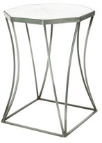 Aidan Gray Cuadrado End Table Table Base Color: Bare Steel