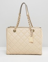 Aldo Quilted Shoulder Bag with Chain Strap