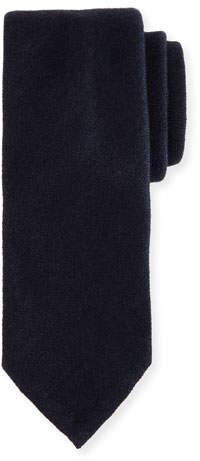Canali Silk-Cashmere Tie, Blue