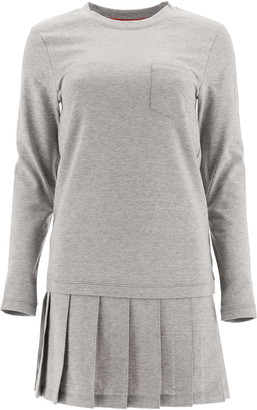 Thom Browne Pleated Mini Dress