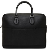 Bally City Pebbled Leather Medium Briefcase