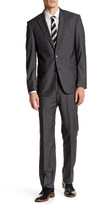 Kenneth Cole New York Two Button Notch Lapel Wool Suit