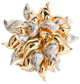 Tiffany & Co. 18K Yellow And White Gold Flower Pin