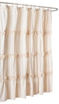 Nobrand No Brand Lush Décor Darla Horiz Texture Shower Curtain