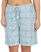 Jockey Plus Size Bermuda Pajama Shorts