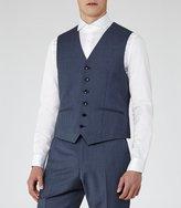 Reiss George W - Slim-fit Waistcoat in Blue, Mens