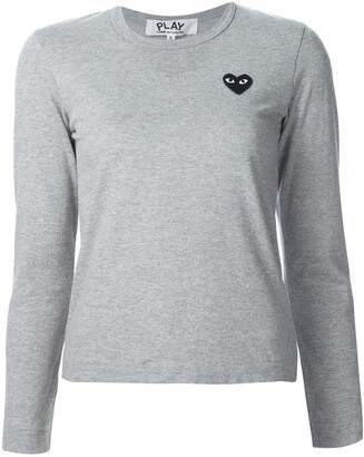 Comme des Garcons chest patch longsleeved T-shirt