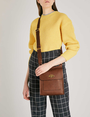 Mulberry Antony grained-leather cross-body bag