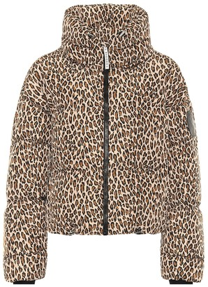 Cordova Mont Blanc printed down jacket