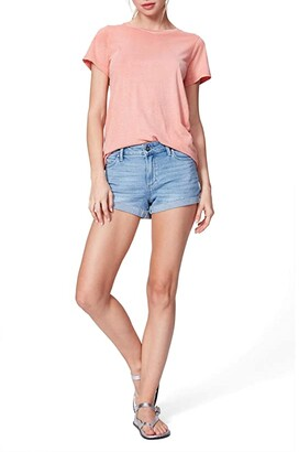 Paige Jimmy Jimmy Shorts w/ Raw Cuff in Belle (Belle) Women's Shorts