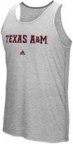 adidas Men's Texas A&M Aggies Team Font Ultimate Ringer Tank
