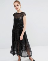 Sister Jane Sequin Smock Dress