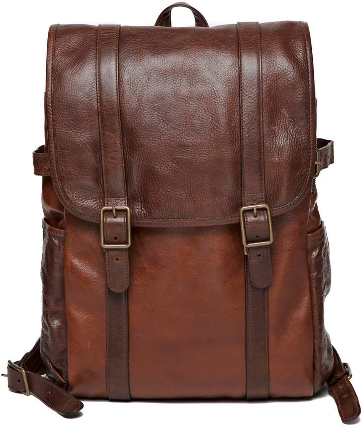 Moore & Giles Crews Leather Backpack
