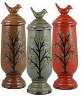 Plutus Brands Set of 3 Assorted Beautiful Ceramic Vases