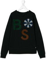 Bellerose Kids patch appliqué sweater