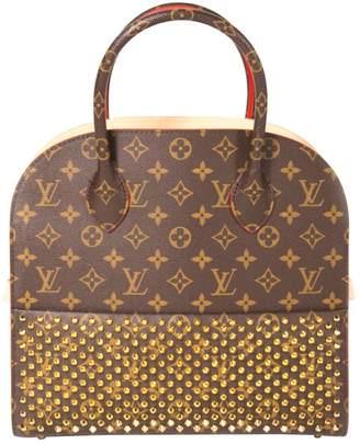 Louis Vuitton Shopping Bag Louboutin Multicolour Cloth Handbags