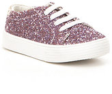 Kenneth Cole Reaction Girl's Kam Glitter Lace Up Sneakers