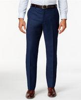 MICHAEL Michael Kors Blue Solid Classic-Fit Dress Pants