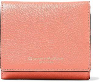 Donna Karan Pebbled-leather Wallet