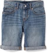 Old Navy Distressed Slim Denim Shorts for Boys