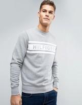 Tommy Hilfiger Denton Logo Sweatshirt Crew Neck