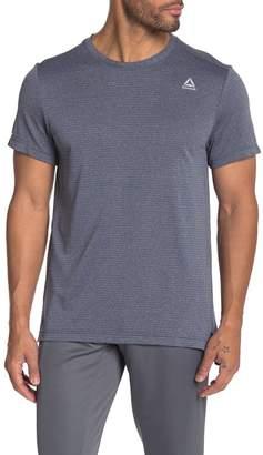 Reebok Melange Short Sleeve Tech T-Shirt