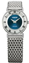 Jowissa Women's J2.076.S Roma 24 mm Blue Dial Roman Numeral Stainless Steel Watch