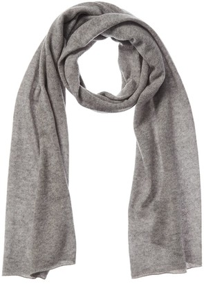 Forte Cashmere Featherweight Oversized Cashmere Scarf