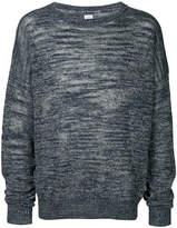 E. Tautz melange round neck jumper