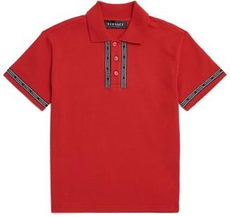 Versace Logo-Tape Polo Shirt (4-14 Years)