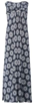 Dorothy Perkins Womens *Izabel London Navy Geometric Print Bandeau Maxi Dress