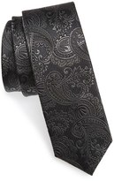 The Tie Bar Men's Textured Paisley Silk Tie