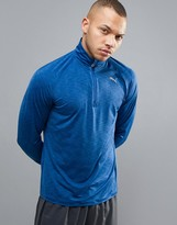 Puma 1/4 Zip Sweat In Blue 51501102