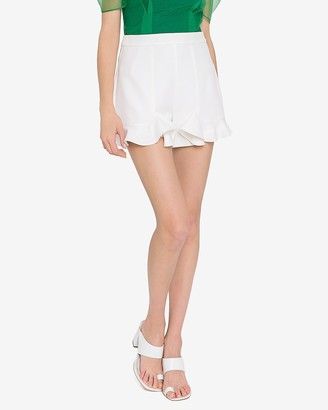 Express Endless Rose High Waisted Ruffle Shorts