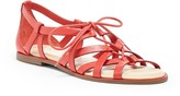 Sole Society Gillian gladiator flat sandal