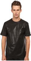Pierre Balmain Leather Style T-Shirt