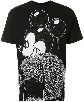 Dom Rebel mickey mouse print T-shirt