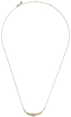 Astley Clarke 14kt yellow gold large Icon Scala diamond necklace