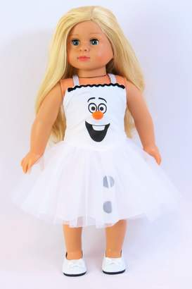 Fashion World American Doll Snowman Dress