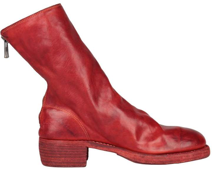 Guidi Horse Lather Back Zip Boots