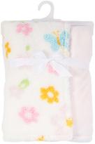 Pink Floral Stroller Blanket