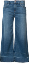 J Brand wide-legged cropped jeans - women - Cotton/Spandex/Elastane - 24
