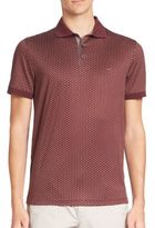Michael Kors Dot Diamond Printed Polo