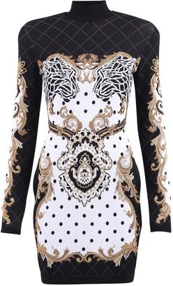 Balmain Fitted Dress