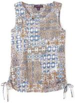 Gloria Vanderbilt Women's Sleeveless Navajo Dreams Top